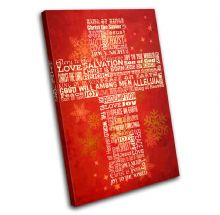 Cross Typography Gift Christmas - 13-2300(00B)-SG32-PO